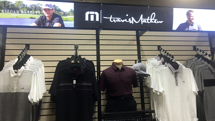 『Travis Mathew』のコーナー