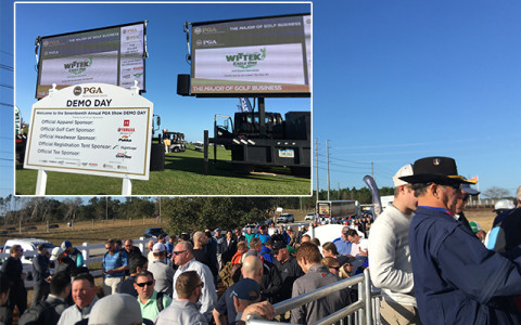 世界一の広さと規模を誇る試打会に参加!〜「PGAマーチャンダイズショー」デモデー〜