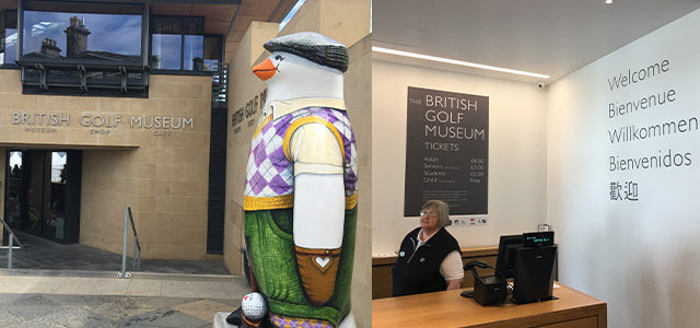 BRITISH GOLF MUSEUM(英国ゴルフ博物館)探訪
