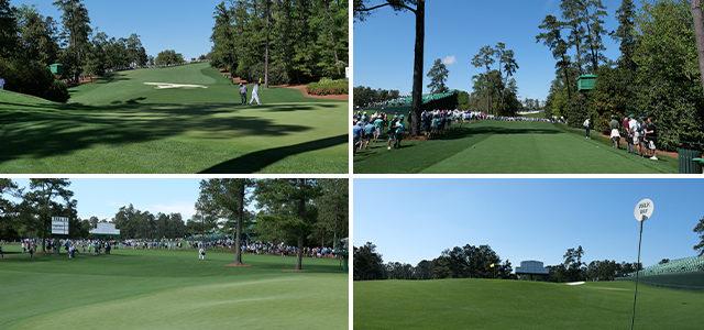 テレビでは分からないオータスタナショナルゴルフクラブ。アップダウン、グリーンの傾斜、ティーグラウンドで感じる樹木の圧迫感など