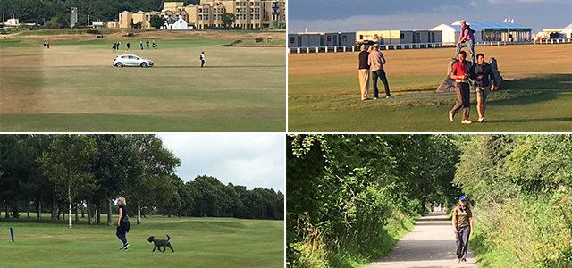 一般市民とゴルファーが共存。素晴らしき英国のゴルフ文化